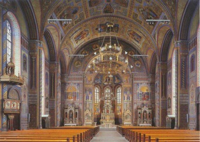 Innenansicht der Kirche St. Leopold Quelle Foto: www.pfarre-hatlerdorf.at