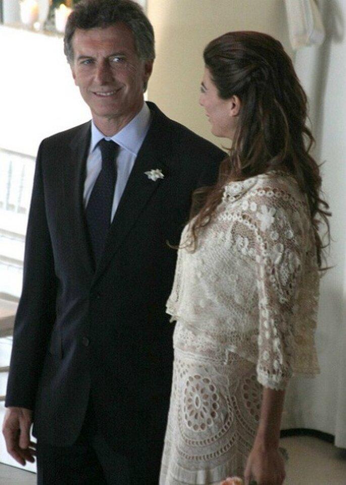 Confianza ciega entre los dos. Foto:Mauricio Macri