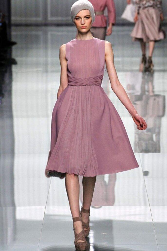 3 tendencias otoñales en vestidos de fiesta - Christian Dior