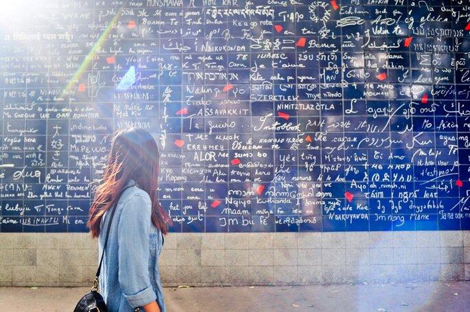 Muro Je t'aime, Paris - WikiCommons