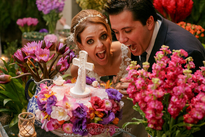 Naked Cake para casamento rústico