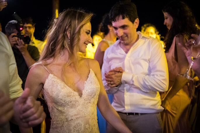 Foto de pista de dança do casamento