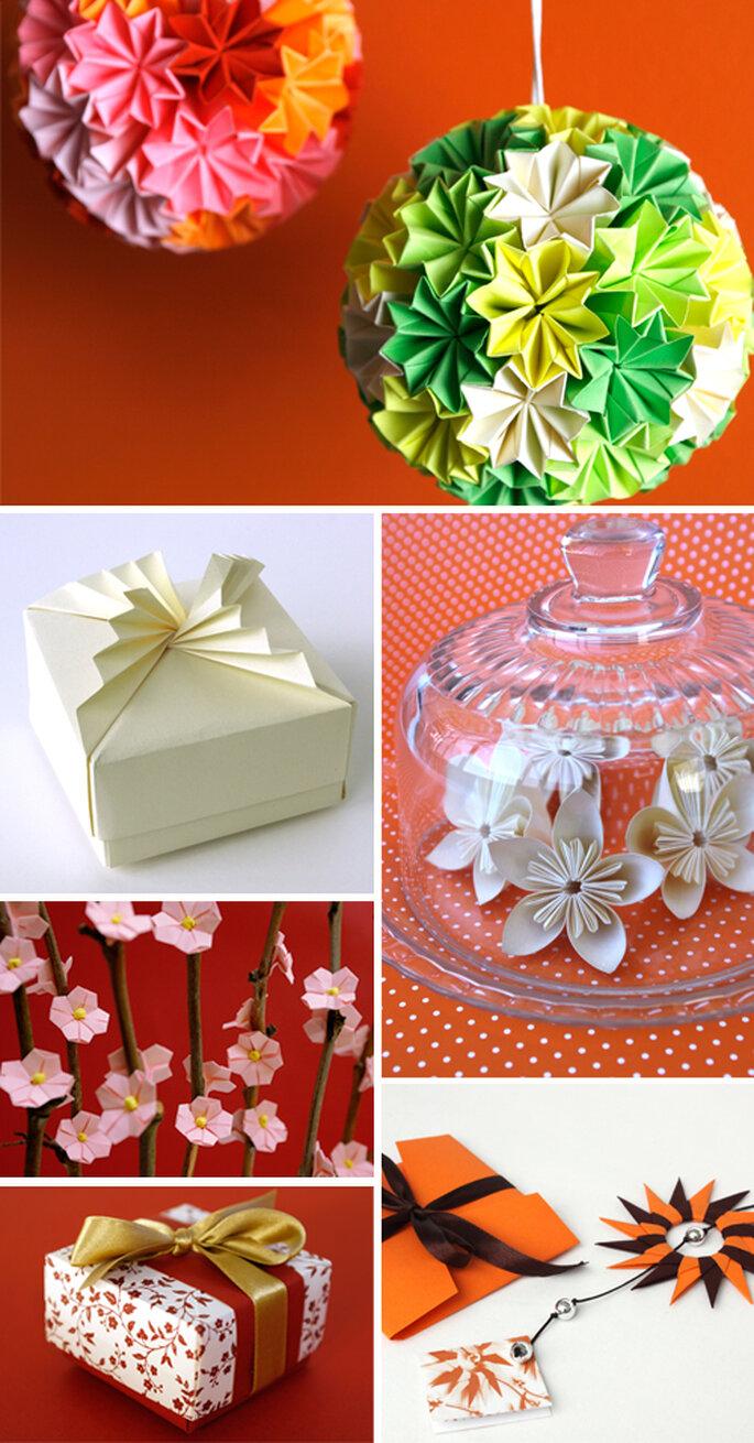 Origami para um Casamento