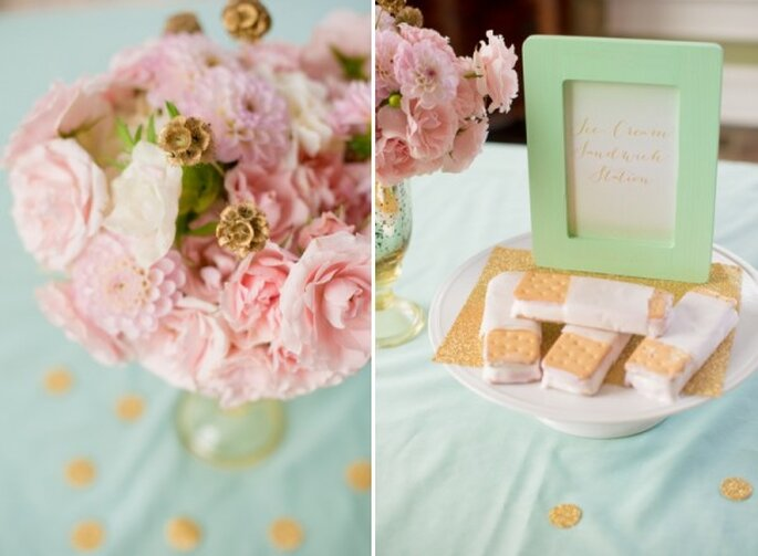 #MartesdeBodas: Decoración de boda en color menta - Foto Twila's Photography