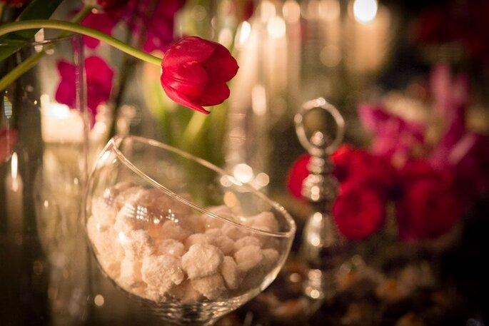 detalhes casamento floral