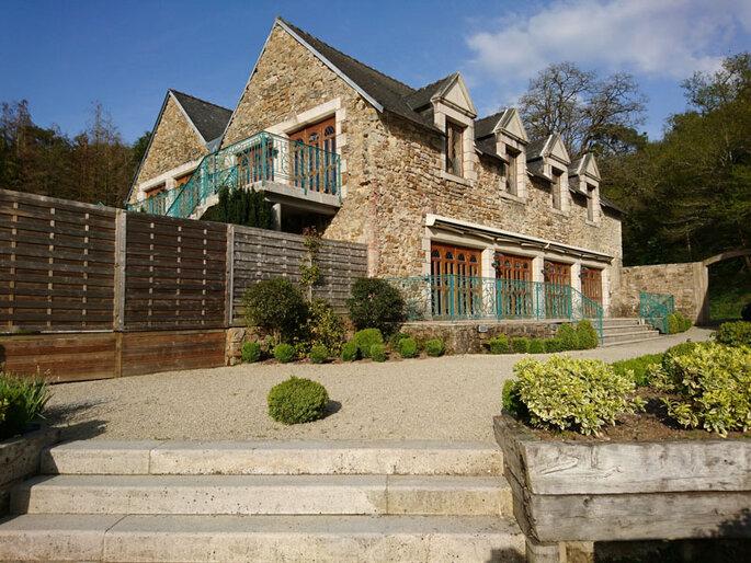 Salle de réception Les Pêcheurs au Domaine du Moulin de Saint-Yves.