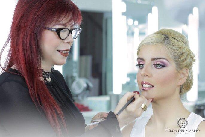 Hilda Make Up maquillaje y peluquería novias San Isidro