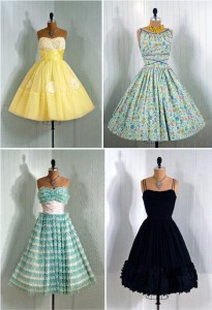 Abitini vintage colorati