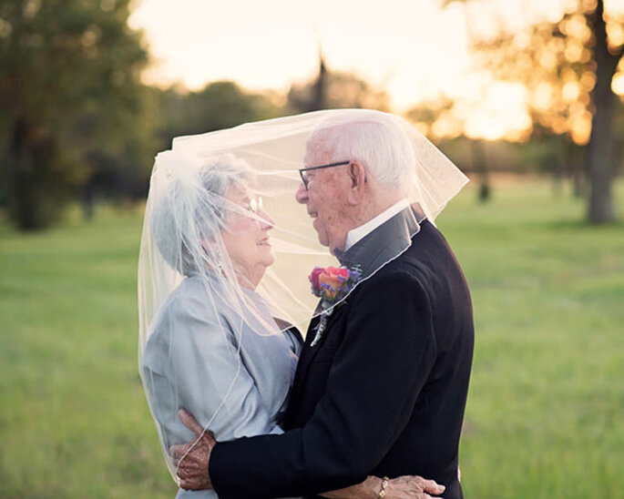 casamento de casal idoso