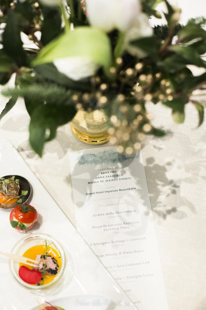 Per gli ospiti, prelibatezze dolci e salate offerte dal catering dell'Hotel