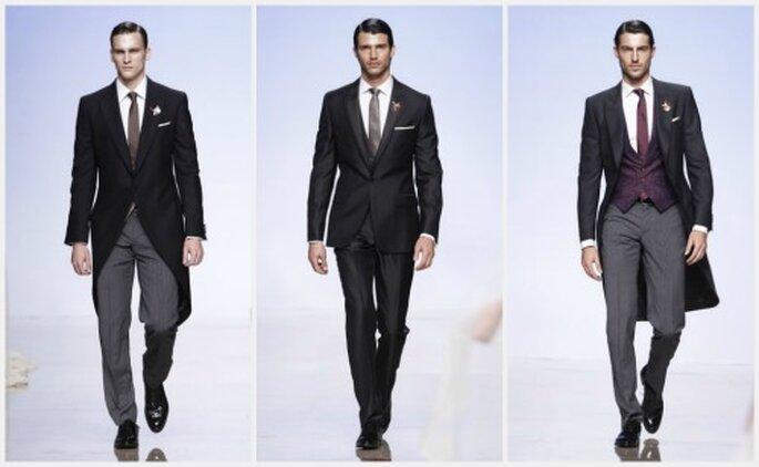 Inspiradores diseños para hombre de la colección 2012 de Victorio & Lucchino