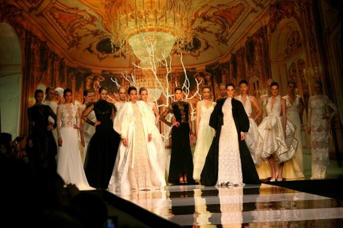 Desfile: YolanCris. Foto: Barcelona Bridal Week