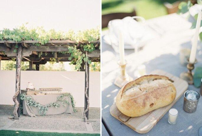 Ideas para decorar tu boda con flores - Foto Rylee Hitchner
