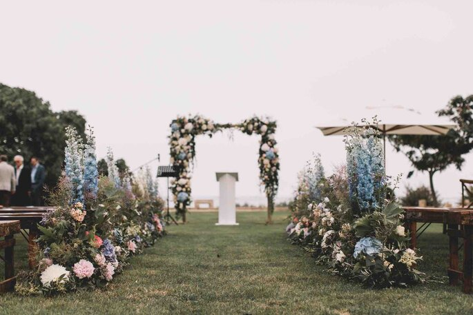 Karine Bruel - Jardin d'Arums - Fleurs mariage - Hérault