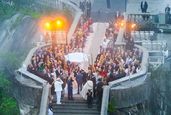 Casamento de Michelle Alves e Guy Oseary