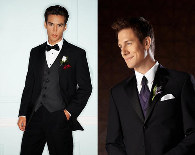 Esmoquin para novio con estilo clásico - Foto Men's Wearhouse
