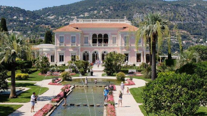 Villa Ephrussi de Rothschild - mariage - couple - plein air - PACA - Provence-Alpes Côte d'Azur