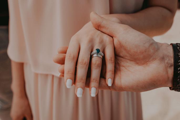 anel de compromisso