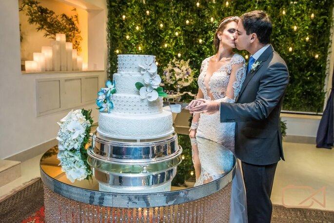 bolo luxo para casamento
