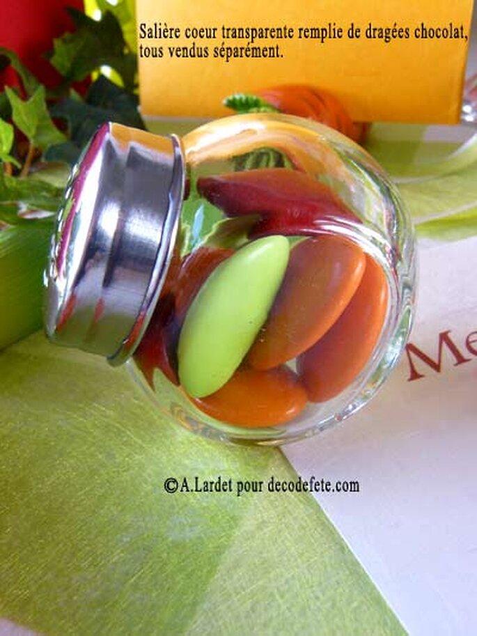 Des contenants à dragées divers et variés - Photo : decodefete.com