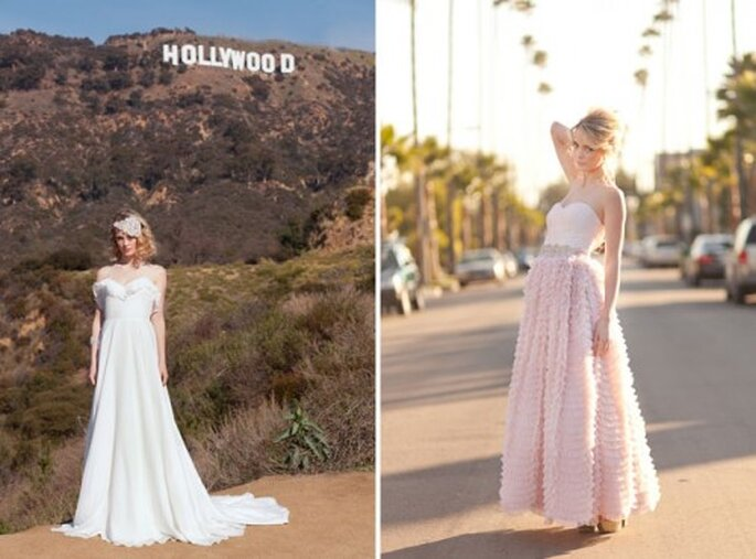 Novias originales- Fotos: Green Wedding Shoes - lovelybridalshop