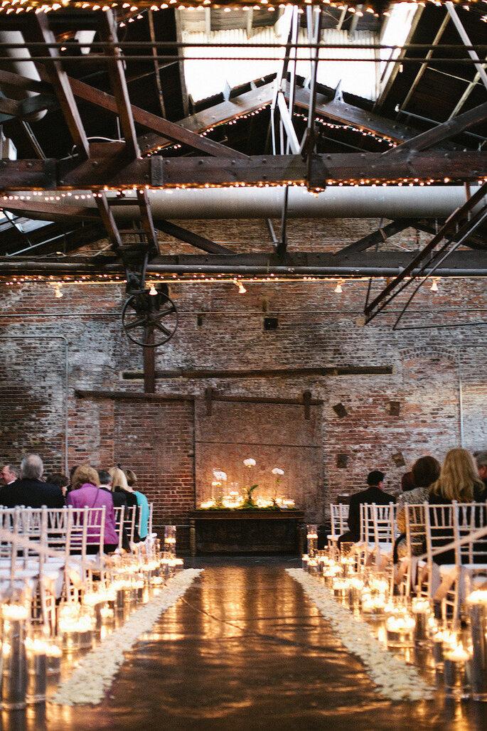 Cómo decorar una boda con estilo industrial este 2015 - Melissa Schollaert Photography