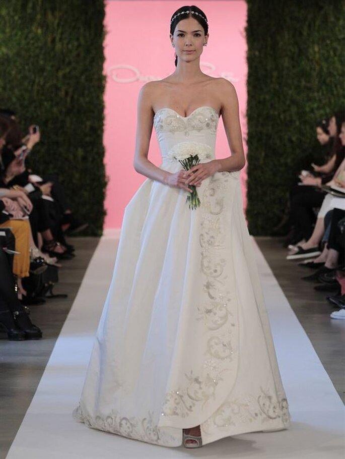 Oscar De La Renta 2015 NY Bridal Week