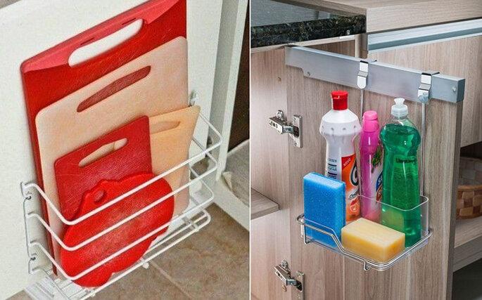 Organização de armários de cozinha - Viva Decora