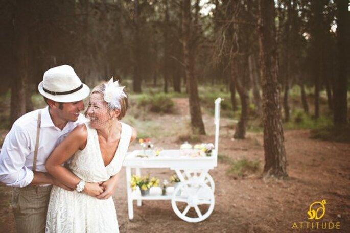 Mariage champêtre : quoi de plus romantique ? - Photo : Fran Cabades Attitude