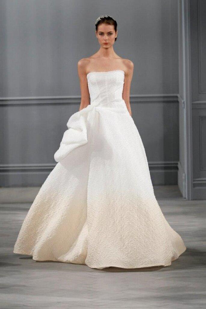 Vestido de novia ombré de moda en 2014 - Foto Monique Lhuillier Facebook