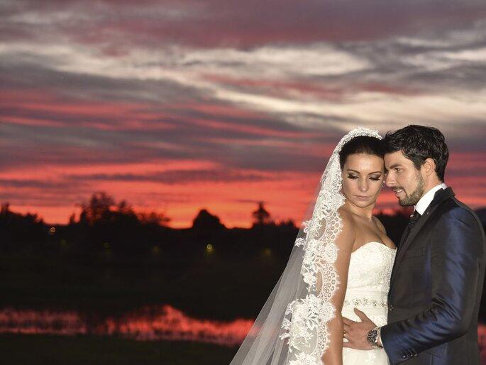 Fotos casamento por do sol