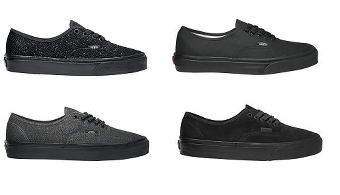 Los invitados de estilo 'skate' también tienen zapatillas con aspecto de zapato. Foto: Vans.