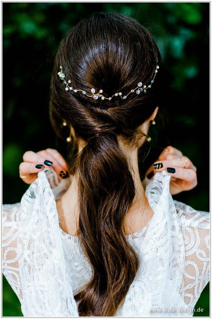 Accessoire cheveux pour un mariage