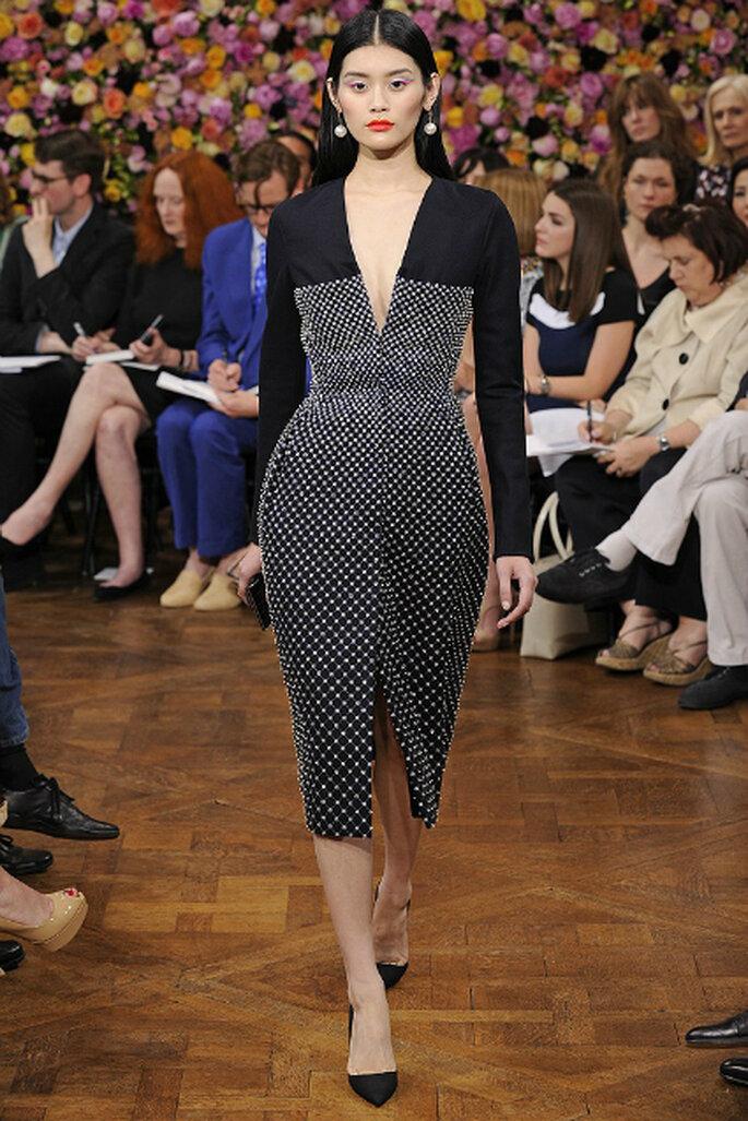 Auch das kleine Schwarze kann wärmen – Foto: Dior