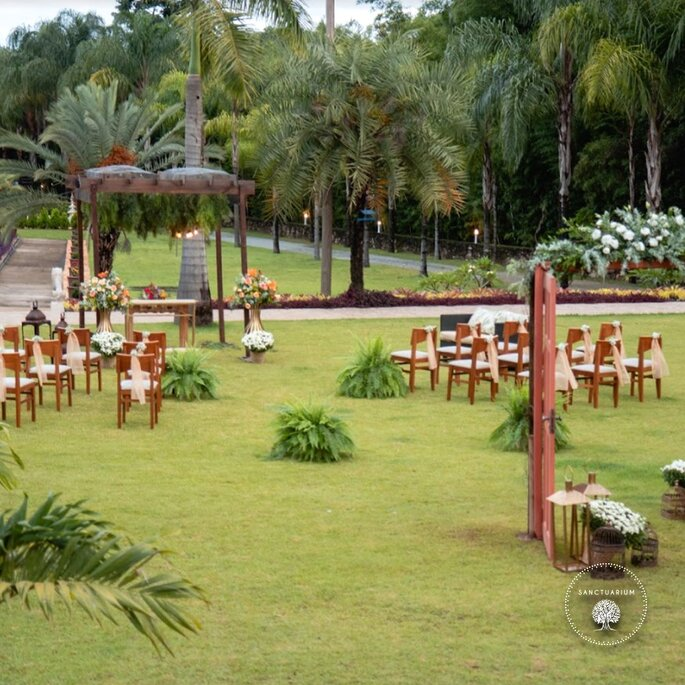 casamento ao ar livre perto de Belo Horizonte