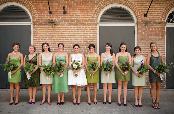 Photo by Austin Gros via Green Wedding Shoes