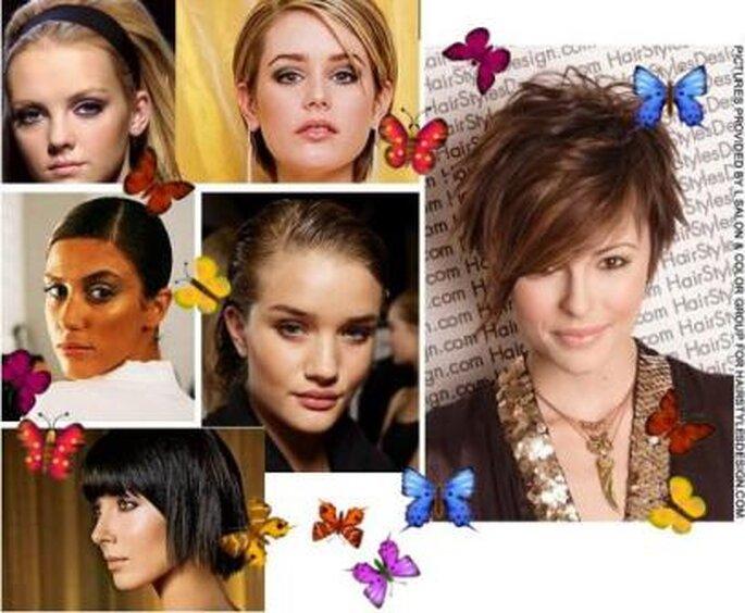 Penteados Noivas Verão - estilo Modern
