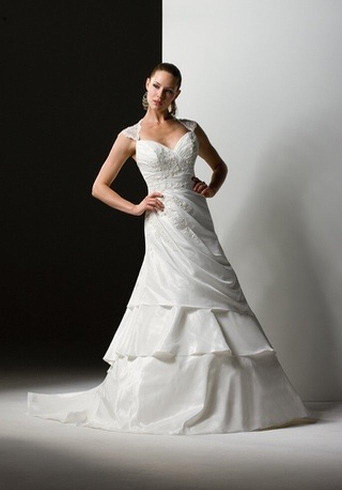 Brautkleid mit Herzform Ausschnitt - Modell 5878 von Sweetheart Gowns