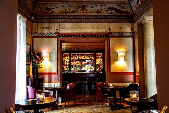Casina Valadier - bar interno cocktails