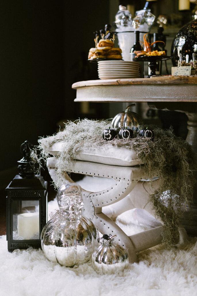 Detalhes para o seu casamento no Halloween