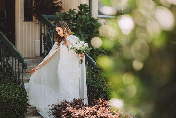 Noiva vestida para casar