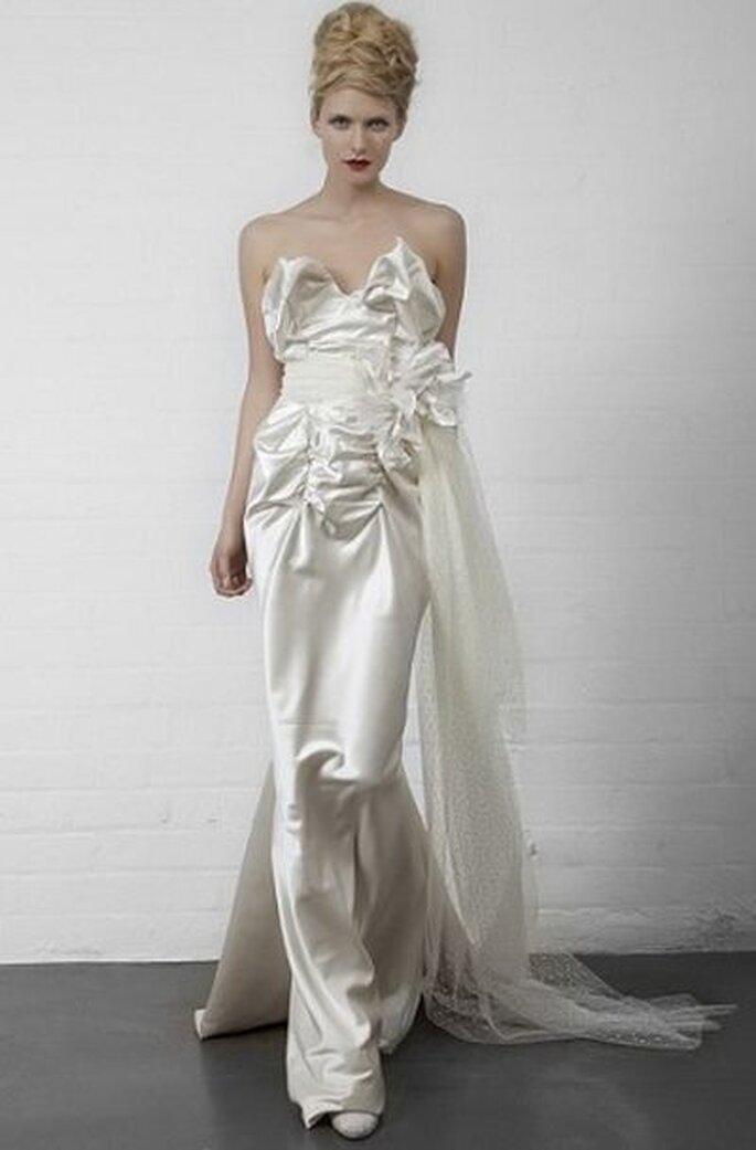 Brautkleid im Meerjungfrauen Stil © viviennewestwood
