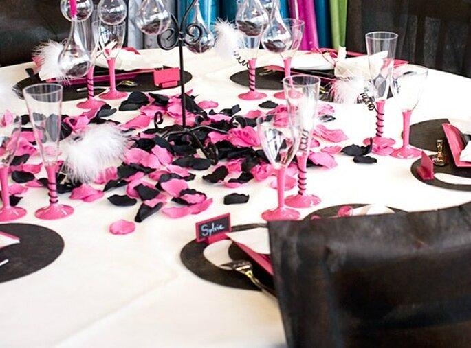 déco de table mariage pas cher #3