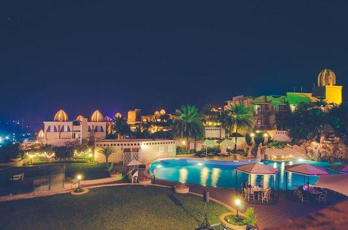 Photo: The Corinthians Resort and Club Pune.