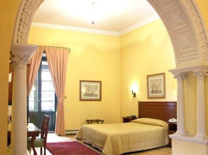 Junior Suite para la noche de bodas. Foto: Hotel de la Opera