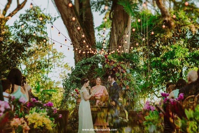 casamento colorido na fazenda
