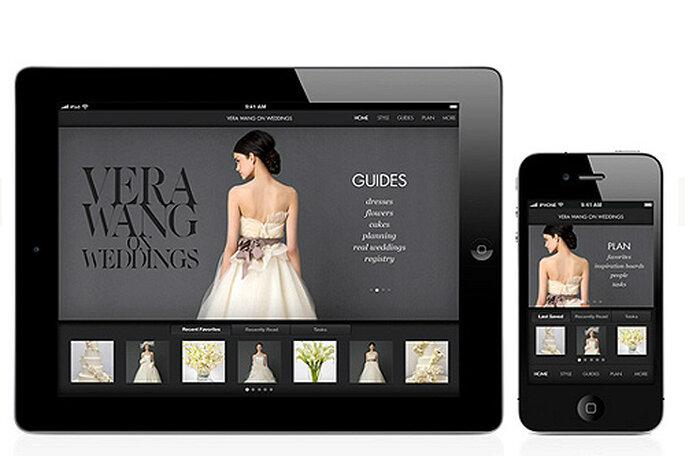 Vera Wang on Weddings für das iPohne, iPad und Ipod Touch- Foto: Vera