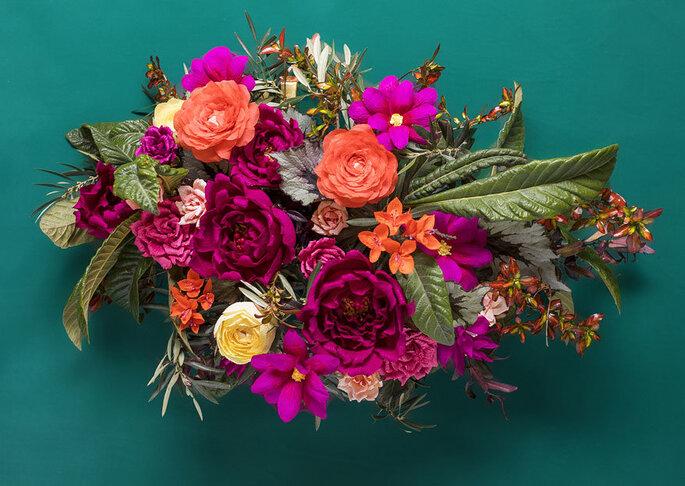 Flores de Papel. Decoração de casamento sustentavel