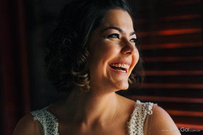 Noiva sorrindo
