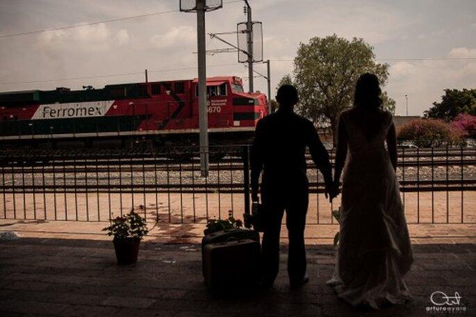 Hay un sinfín de opciones para tener una sesión de fotos Trash the Dress muy original - Foto Arturo Ayala